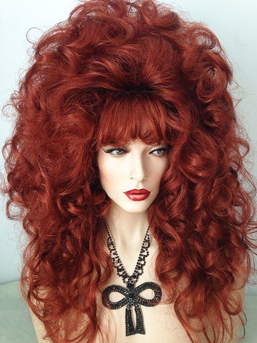 Dramatic, Drag Wig, ringlet, style, curls | Sissy ...