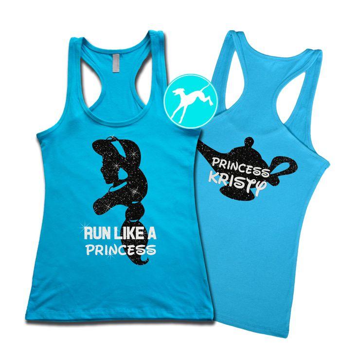 Jasmine Aladdin Princess Disney marathon Workout Tank customized name Burnout Shirt Top Training razor back run running exercise fitness by BranchBirds on Etsy https://www.etsy.com/listing/263223274/jasmine-aladdin-princess-disney-marathon