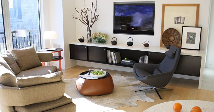 Modern living room, Design Studio Vriesman « Indiana Design Center
