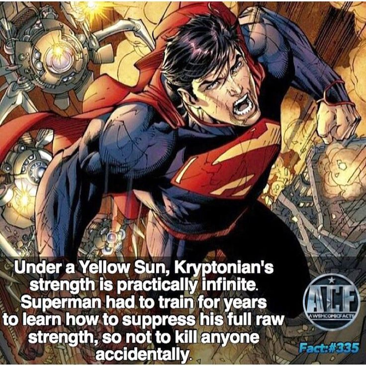 Superman Facts #superman #manofsteel #kalel #houseofEl #clarkkent #lastsonofkrypton #kryptonian #batmanvsuperman #manofsteelfanpage #dccomics #dcuniverse #marvelcomics #comicbook #dawnofjustice #justiceleague #powerful #superhero #awesomepics #worldsfinest #deviantart #batman #flash #wonderwoman #aquaman #greenlantern #martianmanhunter #henrycavill #christopherreeve #brandonrouth #dcfacts