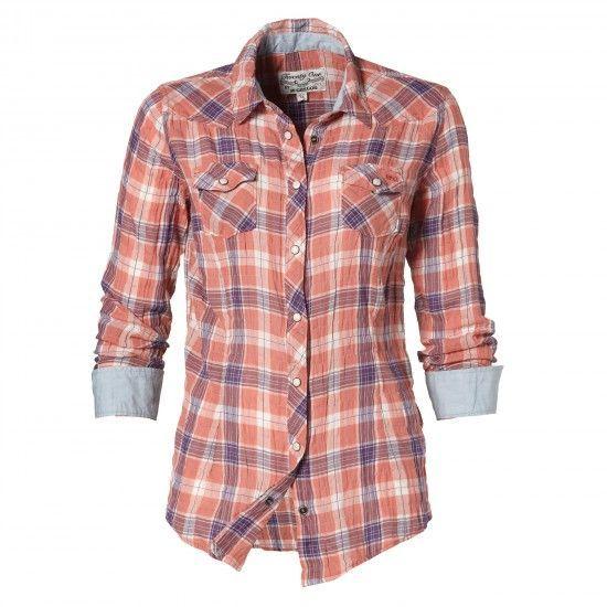 Blouse Checkie Star #McGregor #Fallwinter #2013 #womenswear #classic #fall  #women #fashion #clothing #winter #shirt #blouse #top