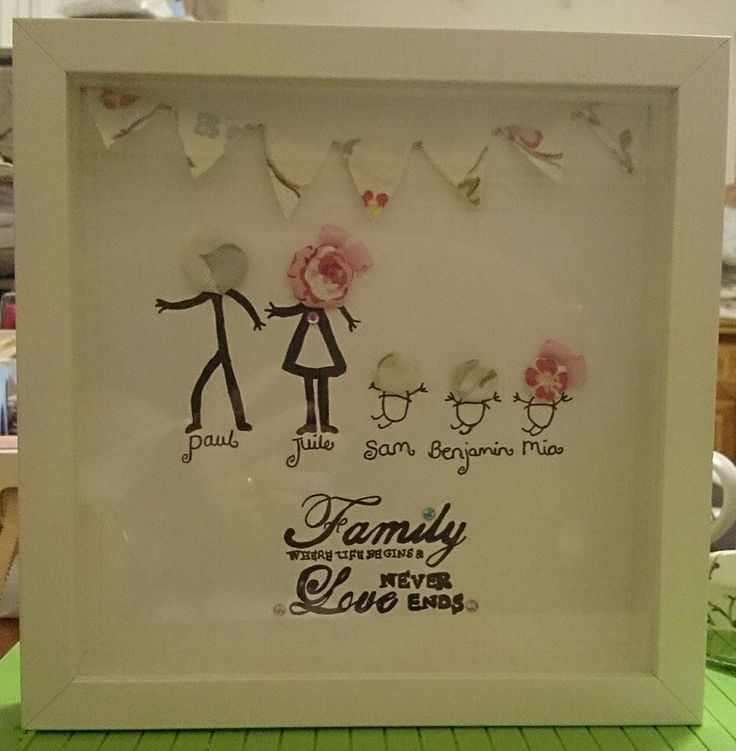 Frame crafty k's has made