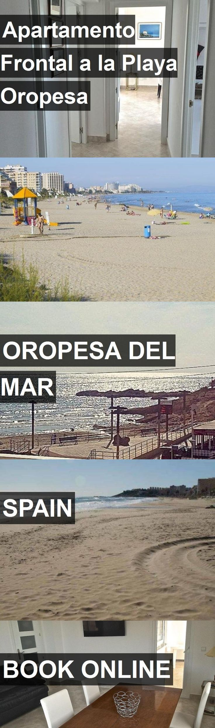 Hotel Apartamento Frontal a la Playa Oropesa in Oropesa del Mar, Spain. For more information, photos, reviews and best prices please follow the link. #Spain #OropesadelMar #travel #vacation #hotel