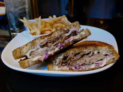 The Cowboy Reuben at Blue Line Lounge & Grill // Chicago, IL