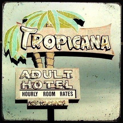 Tropicana Hotel Neon Sign 5x5 Fine Art Photo by FriendlyMade, $12.00