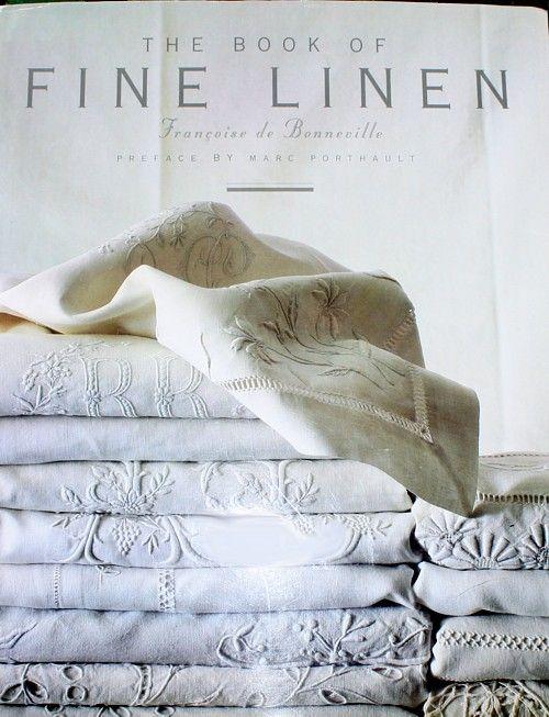 Best book on Vintage Linens. New blog post on www.atelieroldd.com