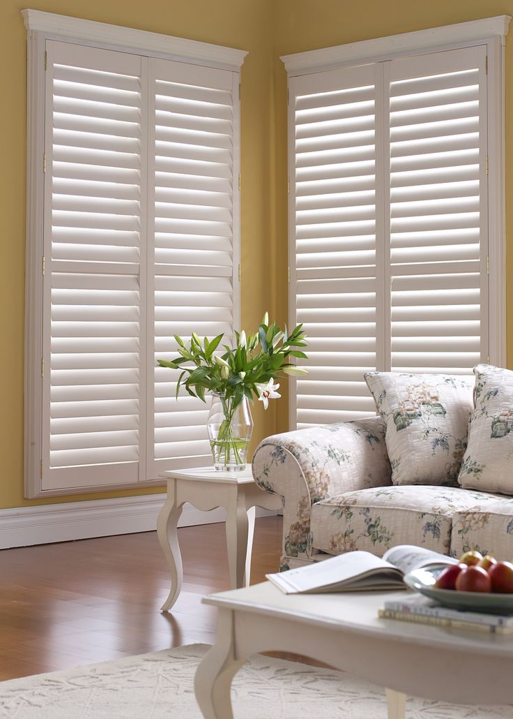 76 best images about plantation shutters on pinterest for Should plantation shutters match trim