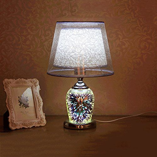 Piaoling Fashion 3d Crystal Lamp Modern Simple Study Roo Https Www Amazon Co Uk Dp B074fvrq33 Lamps Living Room Modern Bedside Table Bedside Table Lamps