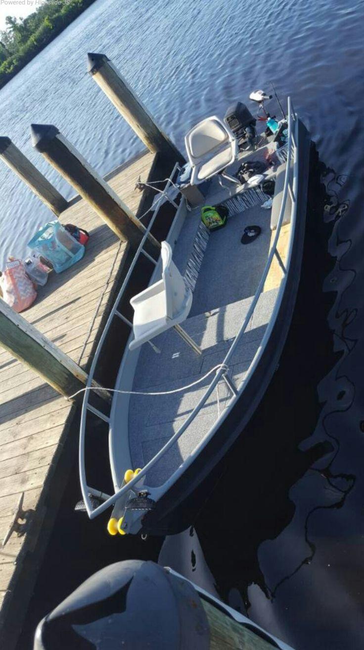 Nice custom jon boat