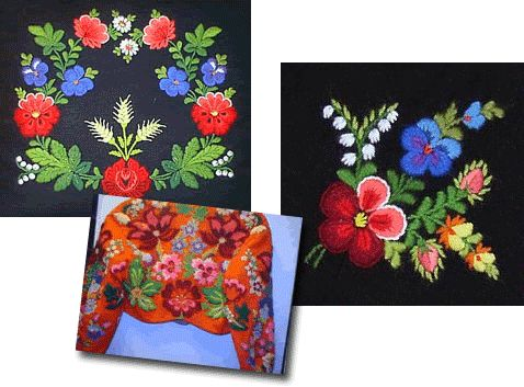 swedish folk art embroidery