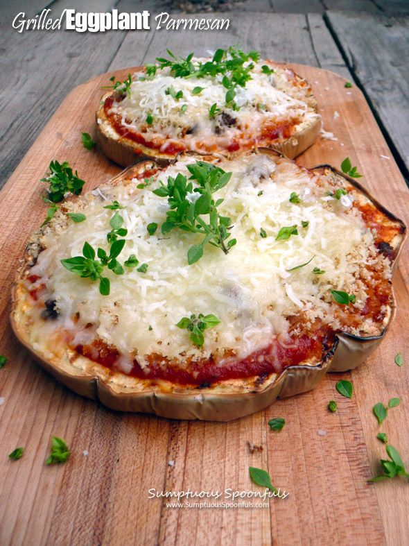 Grilled Sausage And Eggplant Parmigiano Pizza Recipe ...