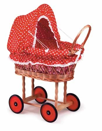 I had one just like this one! Price possession for many girls: wicker doll carriage. Der gute alte Puppenwagen Repinned by www.gorara.com