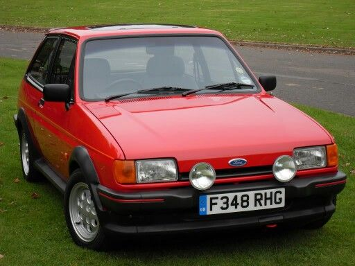 1985 Ford Fiesta XR2i