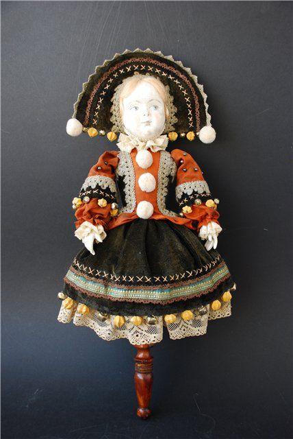 """Погремушка балаганная, эфапласт, папье-маше, текстиль, 45 см Тема выставки """"В балаган вас приглашаю..."""" навеяла мне этих забытых кукол Marotte. Изначально это была…"""