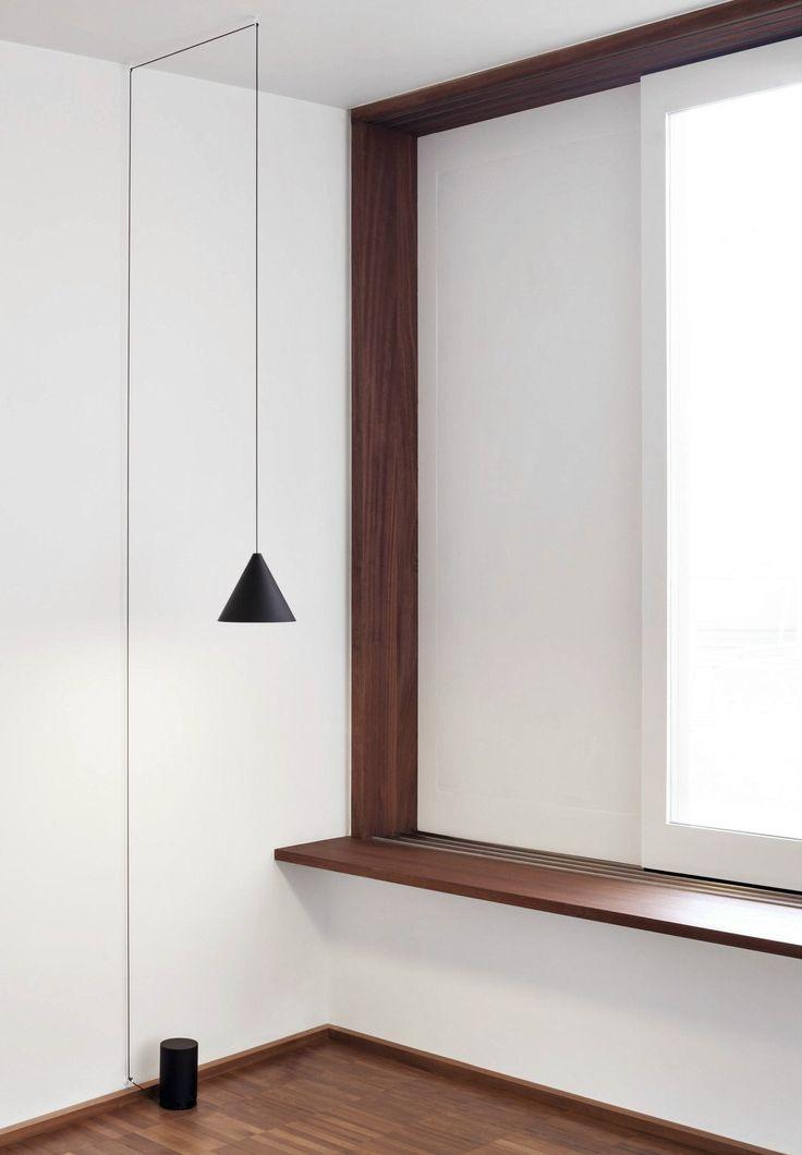 LED pendant lamp STRING LIGHT - CONE HEAD - @floslighting