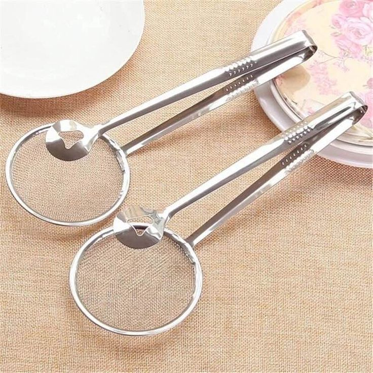 Details about  /Gadgets Net Strainer Fine Mesh Strainer Nylon Mesh Filter Mesh Filter Spoon