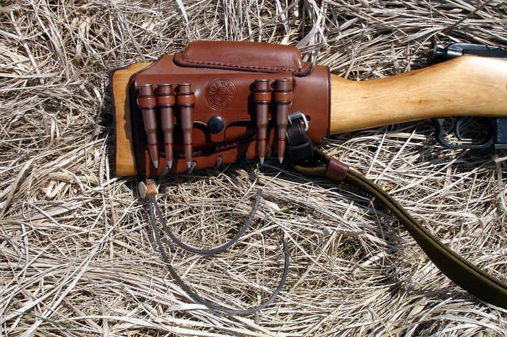Brass Stacker Rick Lowe Mosin Nagant Butt Stock Leather