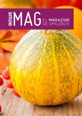 SmileMag noviembre 2014: para pasar un otoño entretenido con nuestros artículos. No te pierdas el horóscopo del mes que viene.