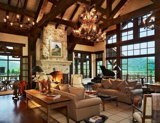 25 best ideas about cathedral ceilings on pinterest - Ranch house living room decorating ideas ...