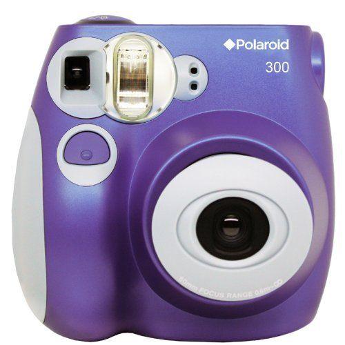 Polaroid PIC-300P Instant Film Analog Camera (Purple):Amazon:Camera & Photo (think I might want this!)