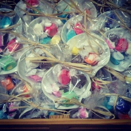 Beach themed wedding shower favors