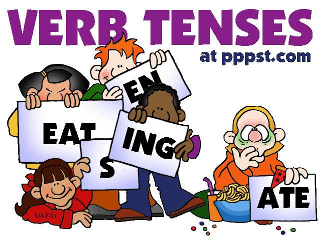 Verb Tenses - FREE Presentations in PowerPoint format, Free Interactives and Games-Do 4th Down with kids