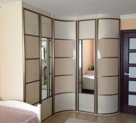 Угловые шкафы-купе  #угловой_шкаф_купе #мебель #дизайн_интерьера