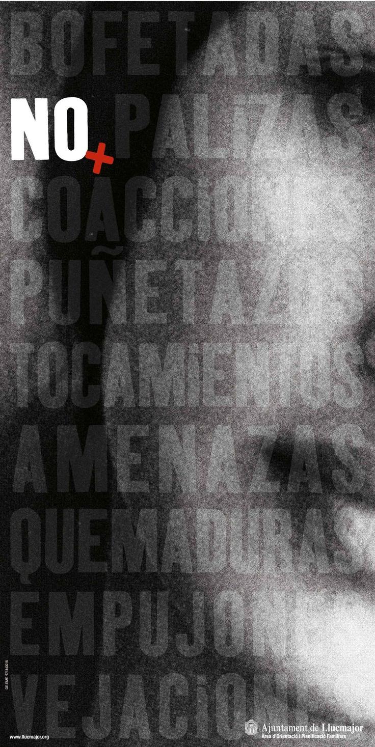 Campau00f1a contra la violencia de género. Ayuntamiento de Lluchmayor.