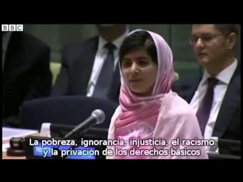 Discurso de Malala en la ONU