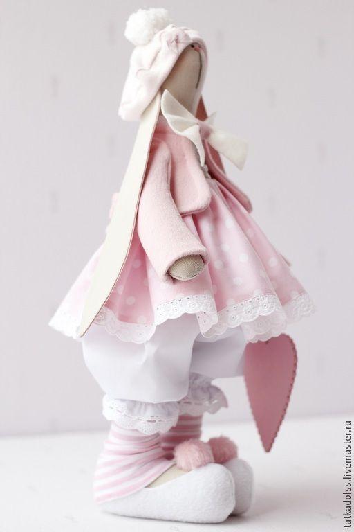 Зайка Розалия - кукла ручной работы,игрушка ручной работы,тильда,тильда заяц