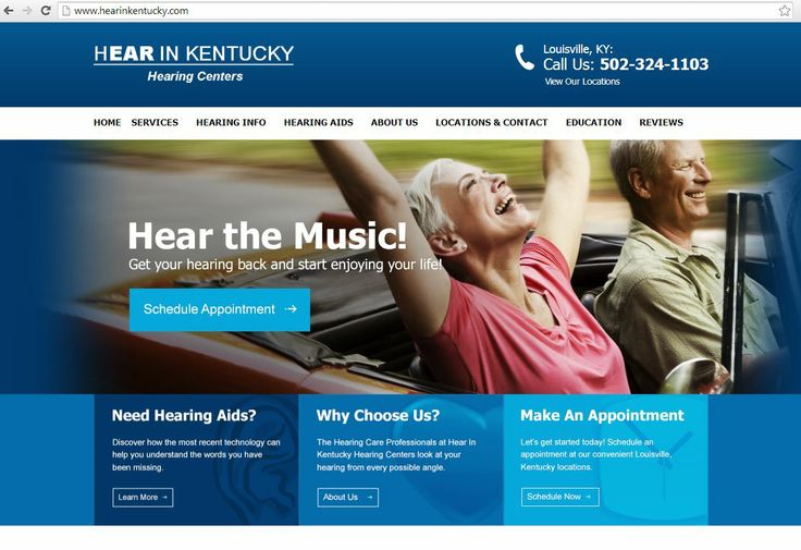 Pin on Audiology Websites