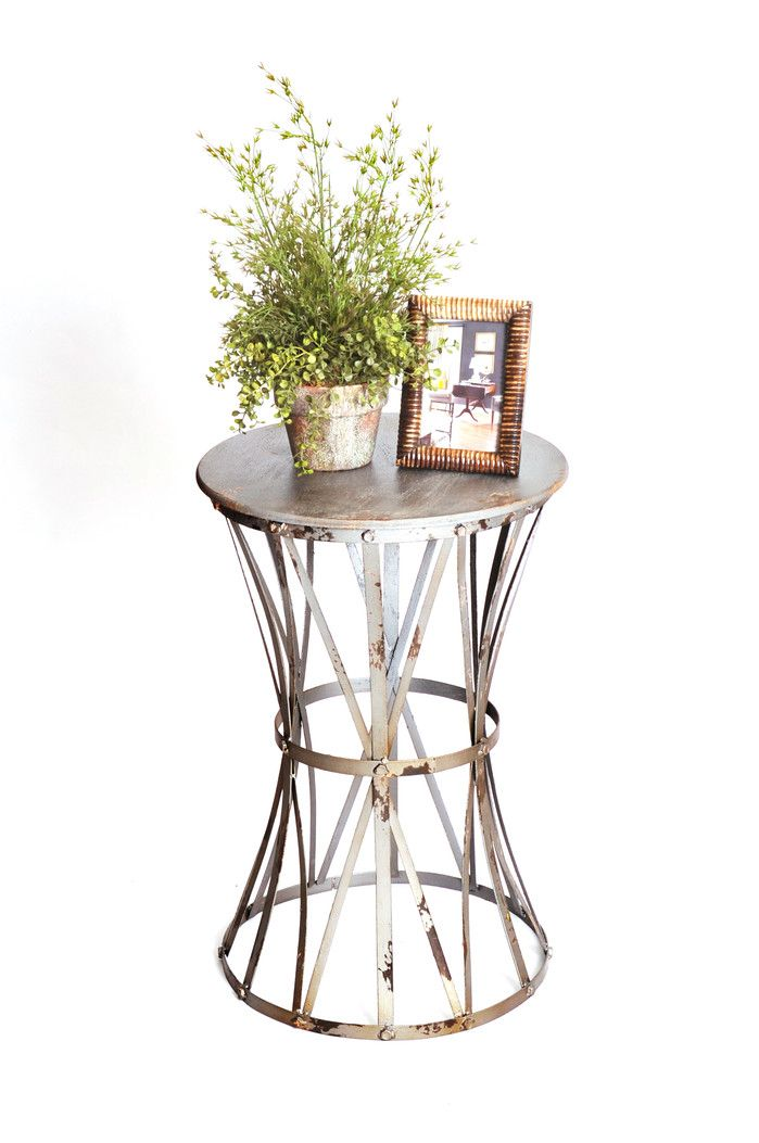 Haven Metal End Table