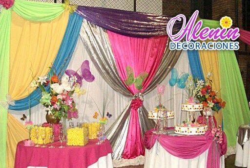 31 best ideas para quince a os images on pinterest ideas for Telas para cortinas