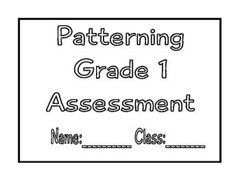 This resource has been created to complement the grade 1 Australian Curriculum teaching in grade 1 for unit 3 term 2.It includes assessment for:  Consolidating repeating patterns growing patterns Connect counting sequences to growing patterns Exploring the tens counting sequenceI have provided all the answers.