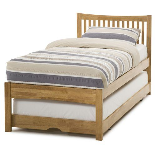 Scottdale Guest Bed Three Posts Finish Honey Oak With Images