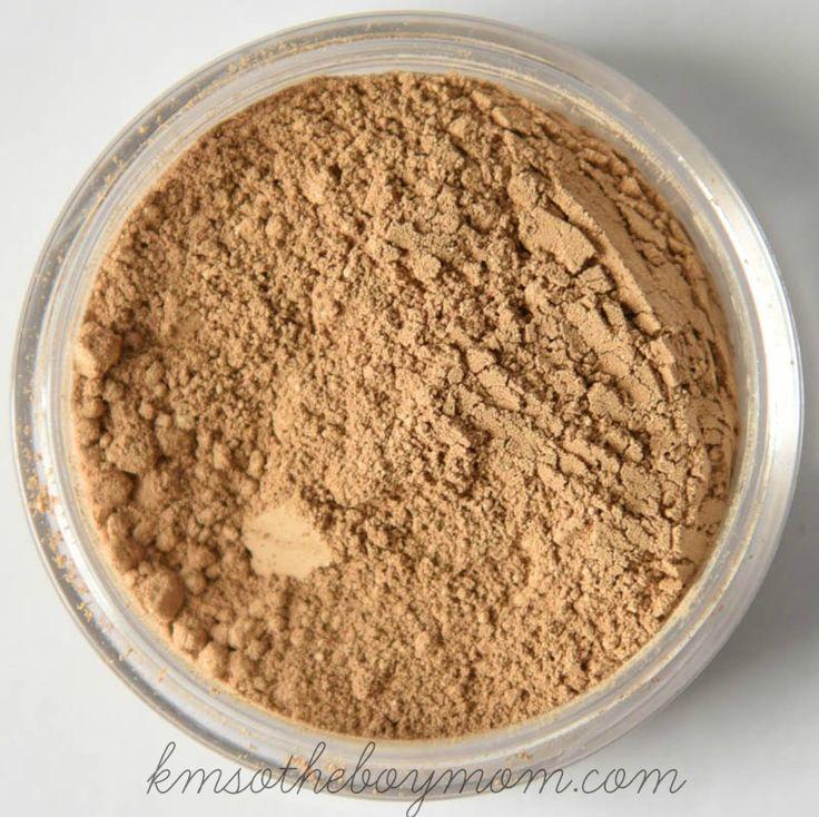 Caramel Best makeup for rosacea, Loose mineral