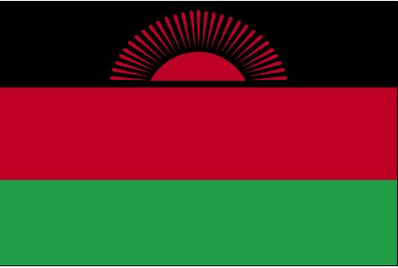 Country Flags: Malawi Flag