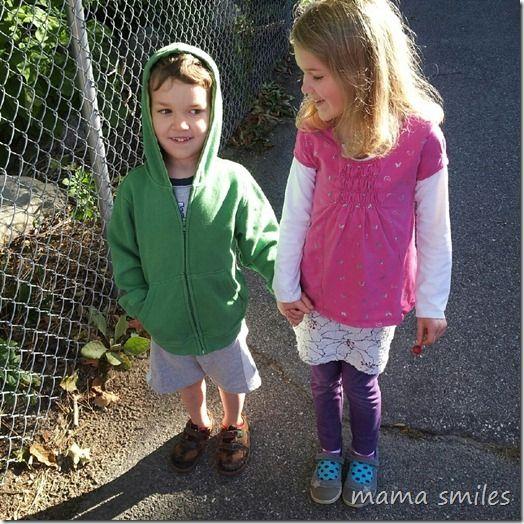 benefits of walking to school for kids