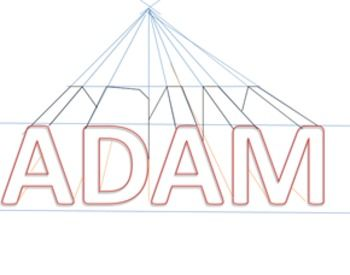 Powerpoint Showing How to Produce a 3D Name in One Point Perspective - Adam Brown - TeachersPayTeachers.com