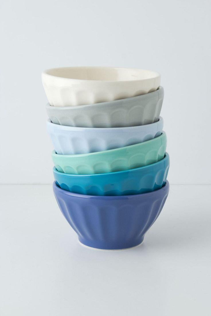 Latte Bowls - Anthropologie.com  Love these bowls in every color