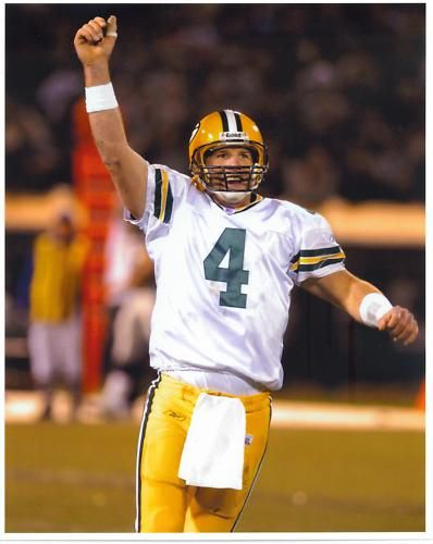 Brett Favre Green Bay Packers Raiders MNF NFL Father Irv Original Photo Rare