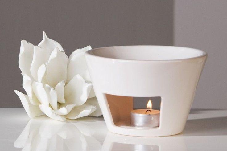 Aromabrenner Shape Keramik weiß Duftlampe Aromalampe Teelicht in Möbel & Wohnen, Dekoration, Duft & Aroma   eBay