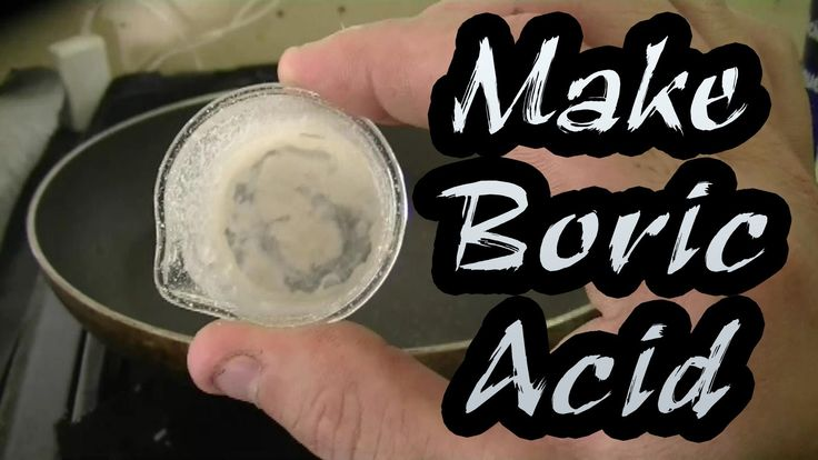 How To Make Boric Acid