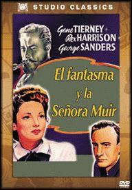 El fantasma y la señora Muir (1947) EEUU. Dir.: Joseph L. Mankiewicz. Fantástico. Comedia. Romance - DVD CINE 2136