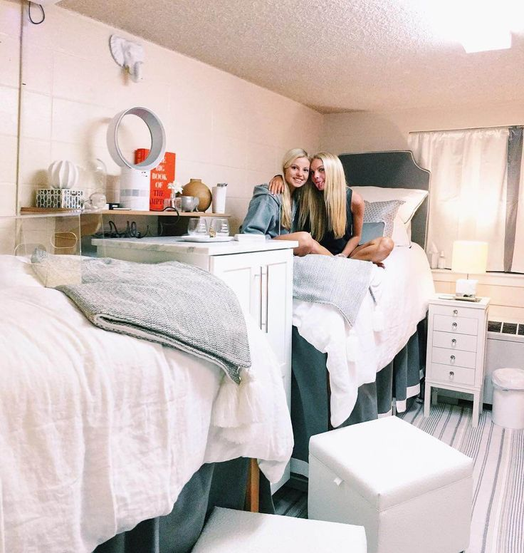 Ritz Carlton or College Dorm Room? You Tell Us. These dorm rooms defy all traditional decor standards. Cozy, chic, glam, and spunk—they have it all. See for yourself.
