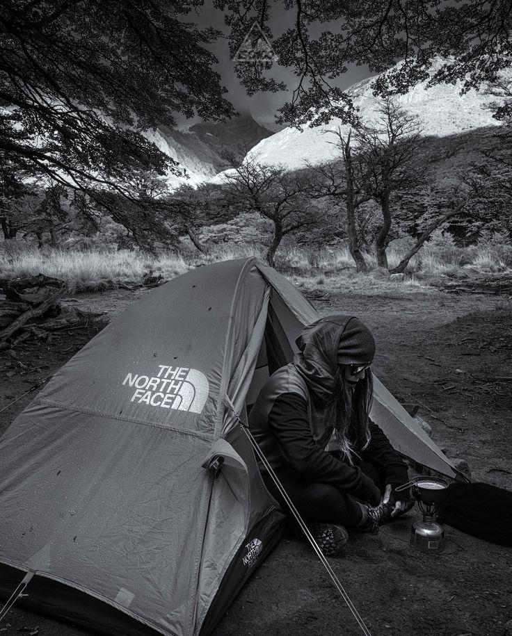 Camp life, Patagonia