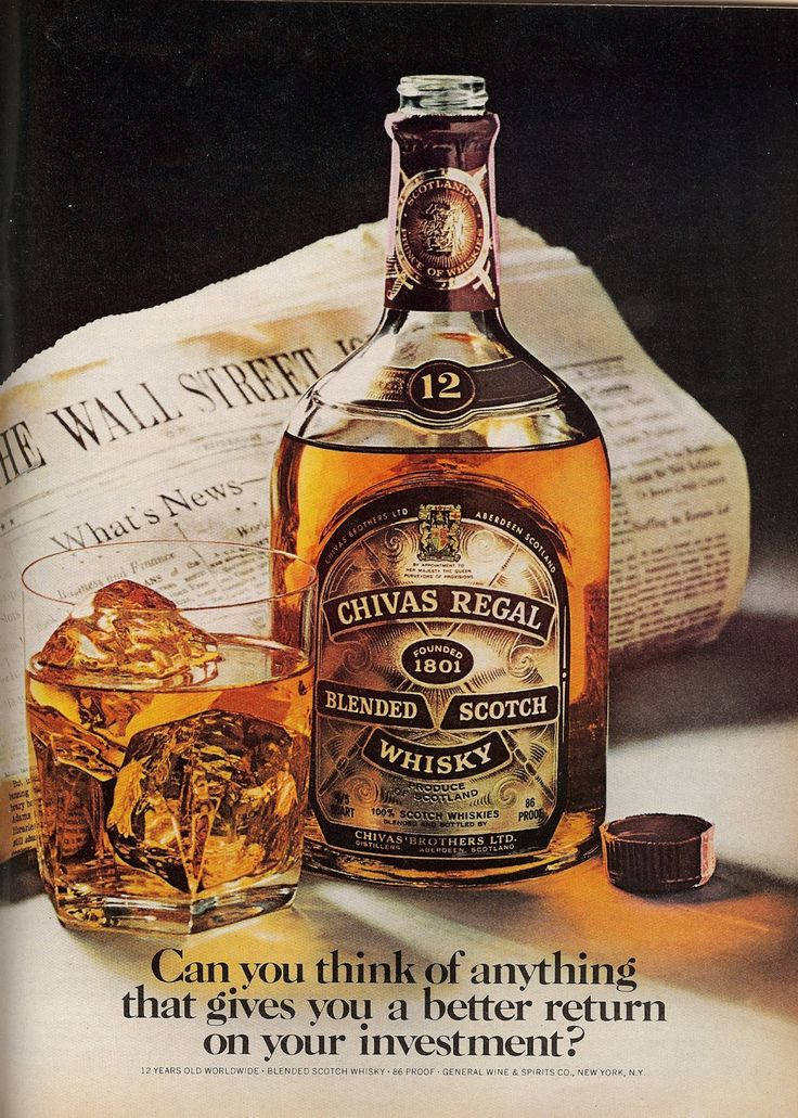 Chivas Regal - because the refined know quality and the successful enjoy the…