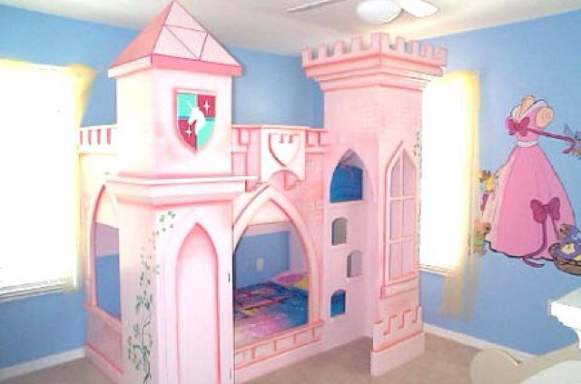 9 Best Images About Kids Castle Bed On Pinterest Shelves