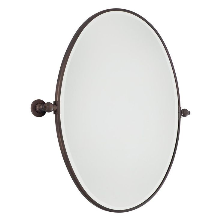 Bathroom Mirror Pivot oval mirrors for bathroom - home design inspiration, ideas and