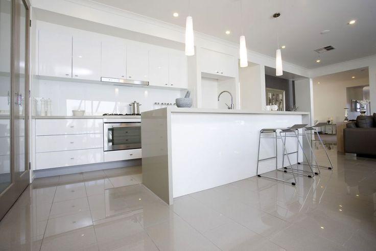 300x600 tiled floor display - Google Search